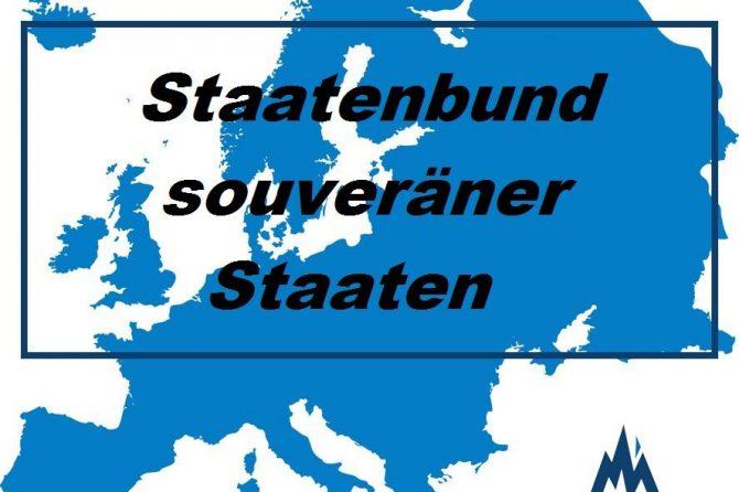 Zurückführung der EU in einen Staatenbund souveräner Staaten