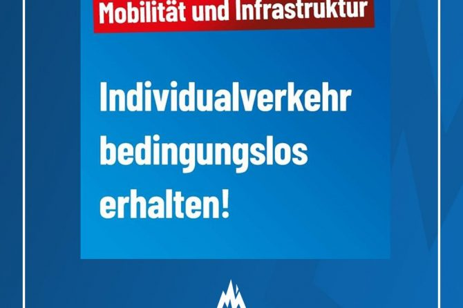 Motorisierten Individualverkehr schützen