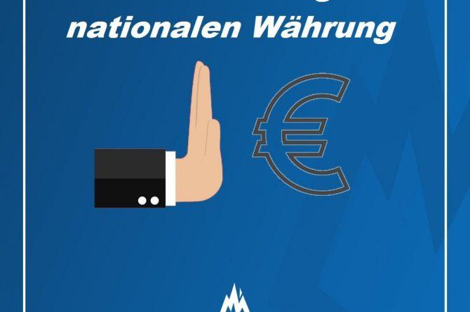 Deutschland muss aus dem untergehenden Euro-System austreten