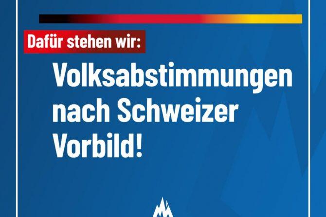 Volksabstimmungen nach Schweizer Modell